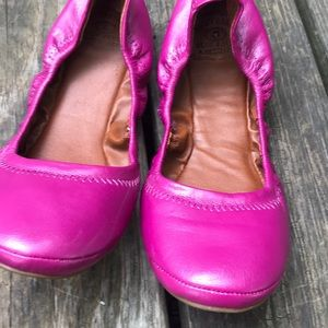 Lucky Brand Emmie Round Ballet Flat Leather Sz 8.5